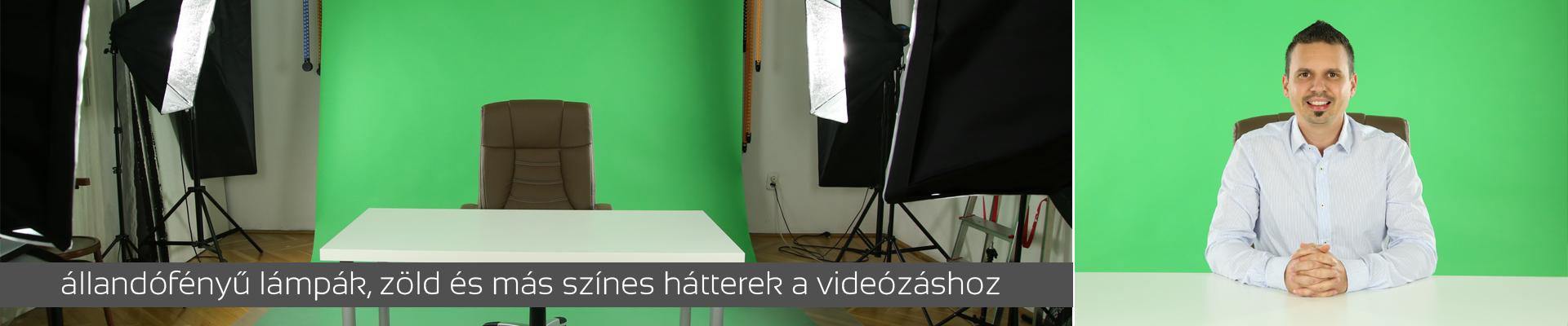 Bérelhető videó stúdió, Bérelhető stúdió videózáshoz, Állandó fényű lámpák